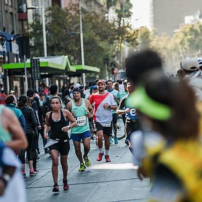 Entel Maratón De Santiago