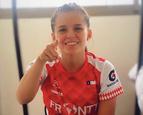 """Francisca Rivas, runner FRONTT: """"El espíritu del equipo llena de alegría cada entrenamiento&quo"""