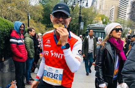 """Eduardo Tapia, Runner: """"Me gusta ver como todos los que pertenecemos a este grupo luchamos por"""