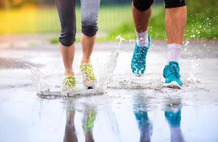 Seis consejos para correr bajo la lluvia