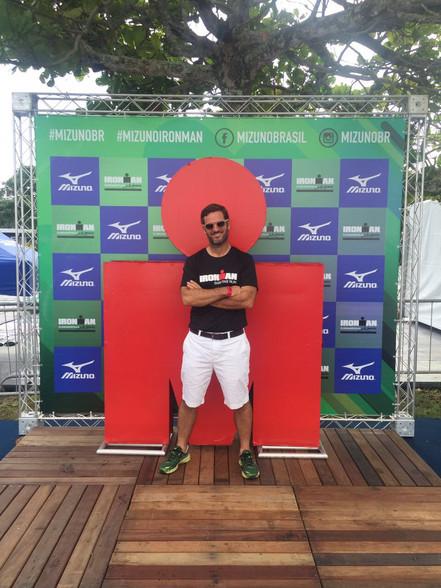Tim Taffe compitió en el Ironman de Florianópolis 2017