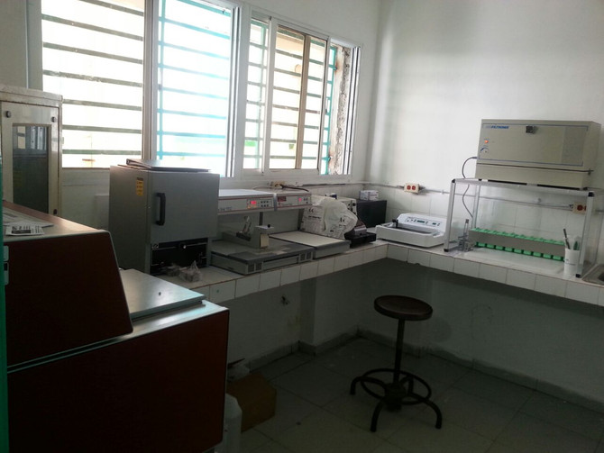 New Pathology Lab in Cap Haitien.