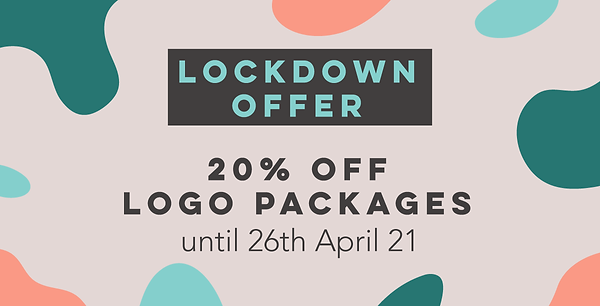 20 percent off logo packages at studio marly, elgin