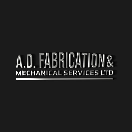 Logo Design for A.D. Fabrications and Mechanical Services by Studio Marly, Elgin Graphic Designer
