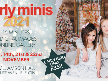 Moray Xmas Mini Sessions Now Booking