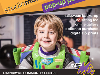 Free Portrait Sittings at Halloween Event
