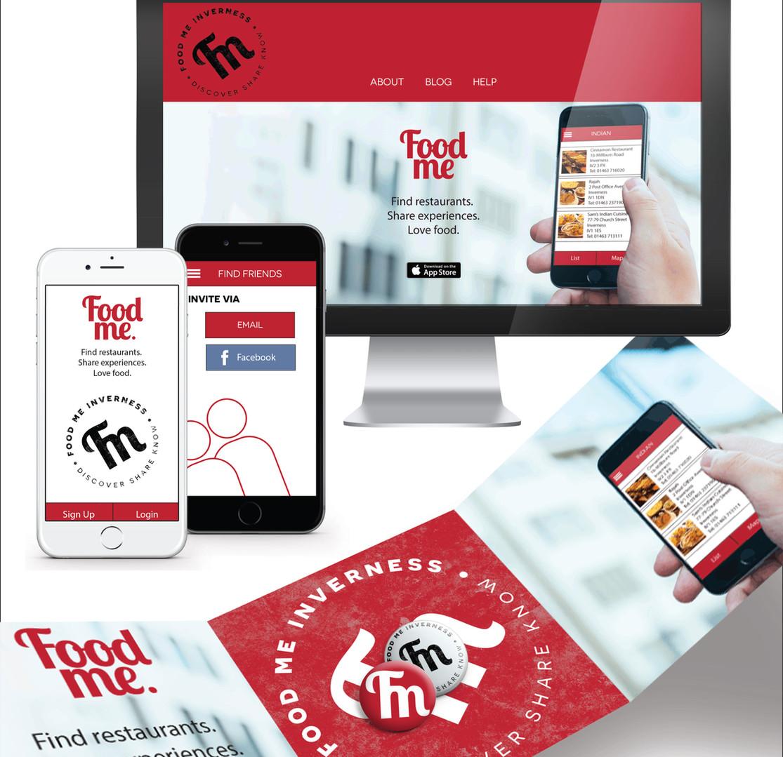 App, Website and Logo Design