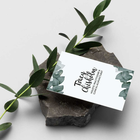 Business Card with Logo Design by Studio Marly, Elgin