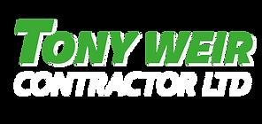 Tony Weir Contractor Ltd Logo