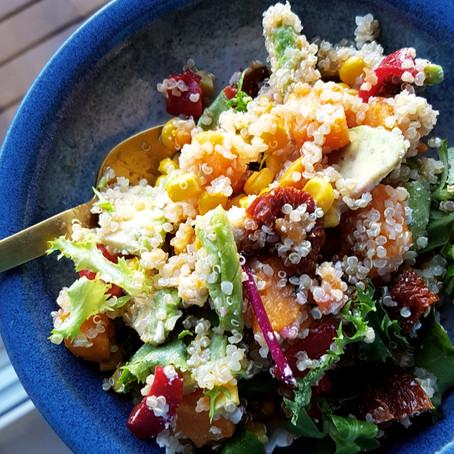 Prøv noe nytt; prøv quinoa! Fordeler og oppskrifter