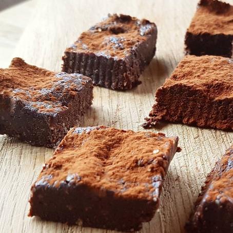Raw Browniebiter: Kun 3 ingredienser