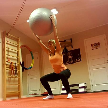 Treningsprogram: Fitnessball
