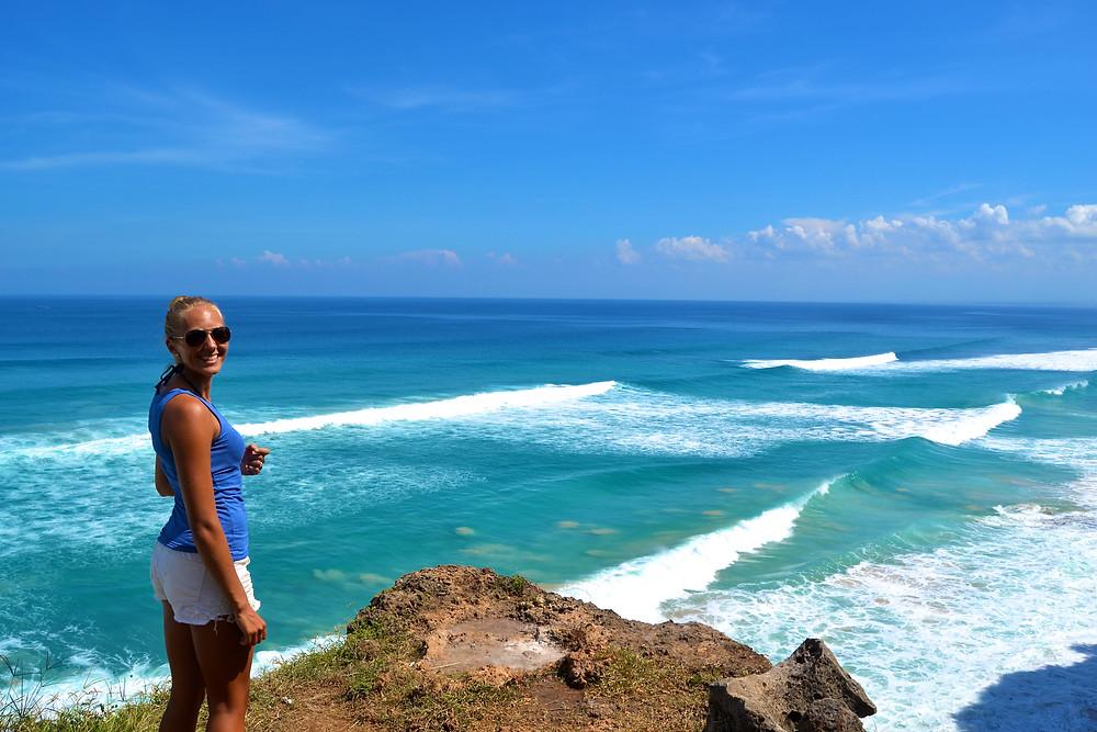Dreamland, Bali - Sjekker dagens bølger