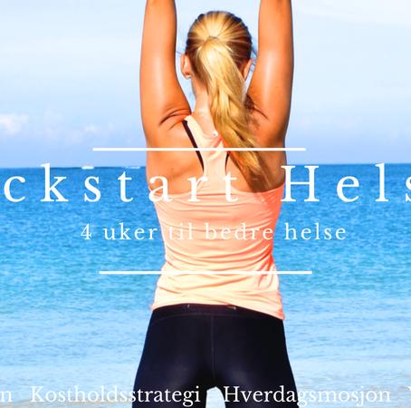 Kickstart Helsen: 4 uker til bedre helse