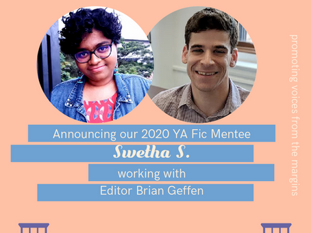 Catching up with 2020 Editor-Writer Mentee Swetha S.