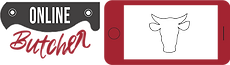 Online butcher logo