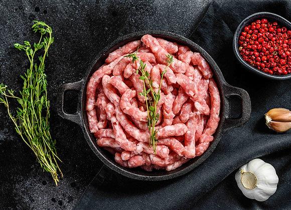 Carne picada de cerdo (precio bja: 0.5kg aprox.)