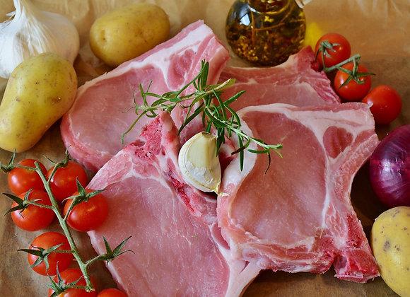 Chuletas de lomo (precio bja: 0.5kg aprox.)