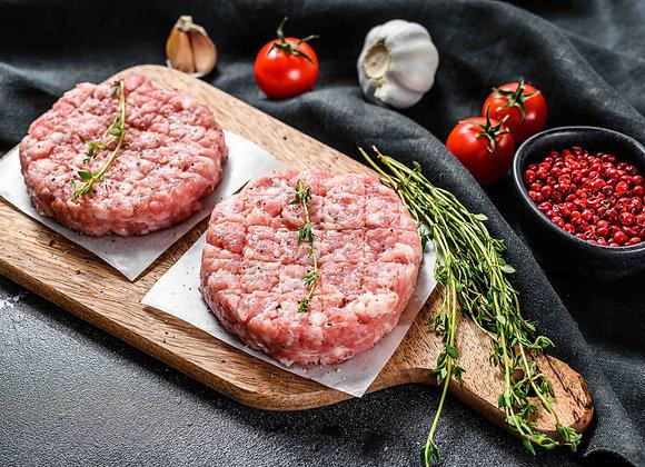 Hamburguesa de pollo (precio bja: 0.5kg aprox.)