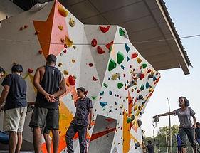 IITB climbing wall