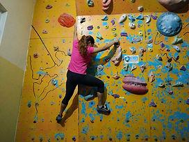 podar climbing wall