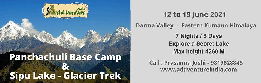 panchachuli glacier trek with Addventure India
