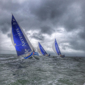 From 40 knots to 4