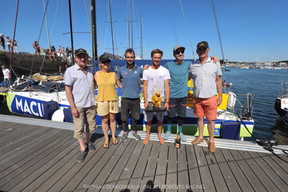 Second place for Alan Roberts in Solo Guy Cotten Concarneau