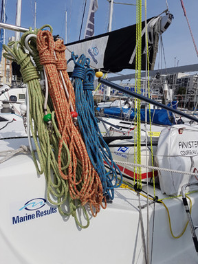 Marine Results partners Alan Roberts Racing for La Solitaire Bompard Le Figaro