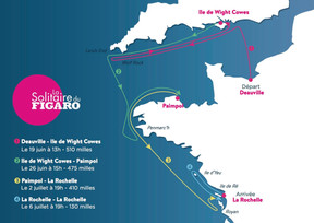 2016 Solitaire du Figaro Course Announced