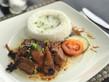 Filipin dish (Braised pork Humba)