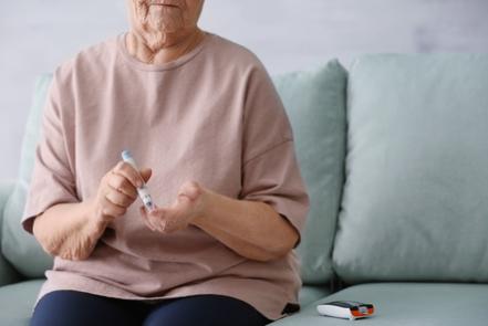 diabète chez la personne âgée