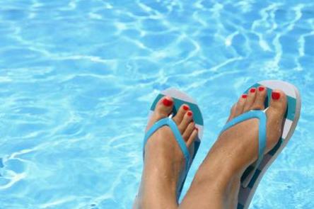 Le fléau de l'été : les tongs