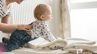 Photo soins chiropratiques bébé