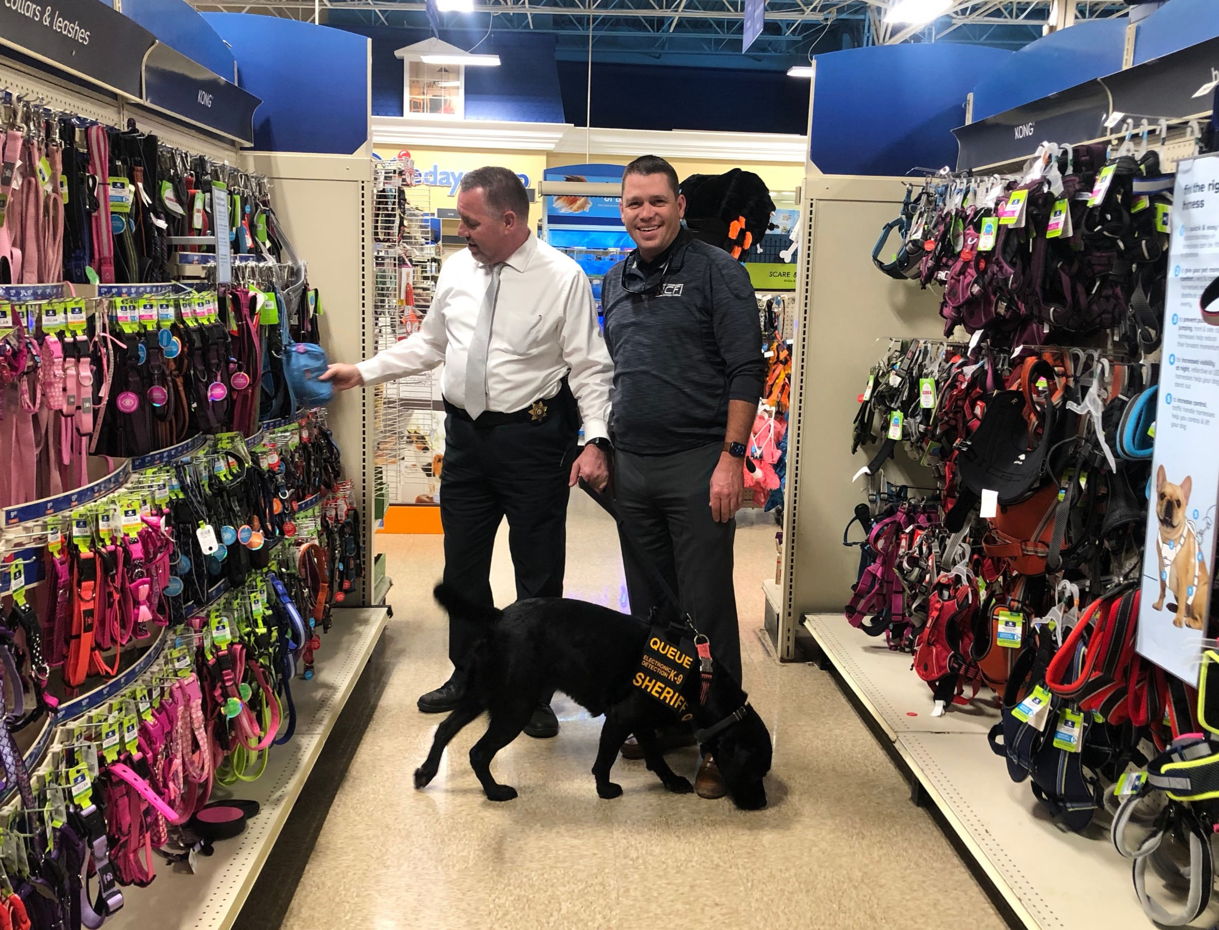 K9 Handlers Shopping