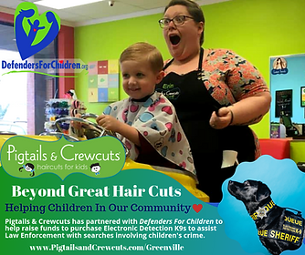 Pigtails & Crewcuts is partnering with D