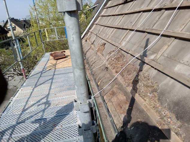 Vallhögsgatan Svart betongtak