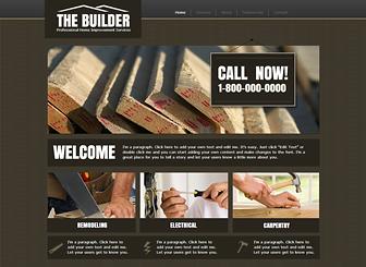 Home Improvement Website Templates Maggilocustdesignco - Home remodeling website templates