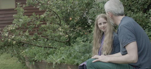 Growing Charlotte film Michael and Charlotte, Elise Jewtushenko and Conor Hackett