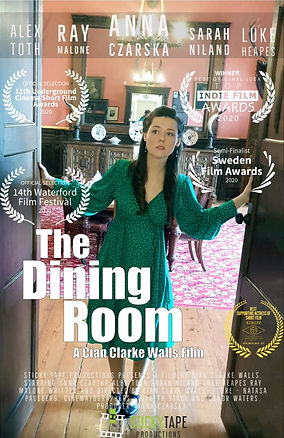 The Dining Room Smaller Poster with laur
