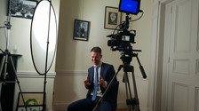 Mr. Douchebag James Whelan behind the scenes of Law and Call Her film