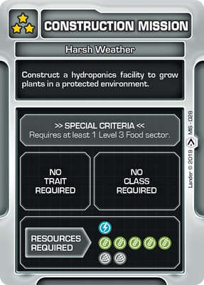 Harsh Weather