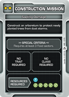 Sapling Damage