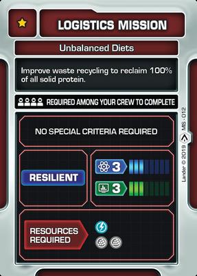 Unbalanced Diets