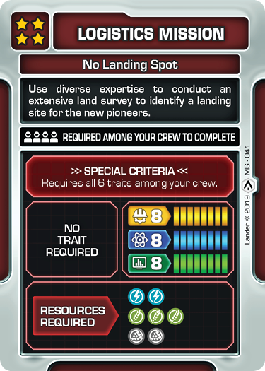 No Landing Spot