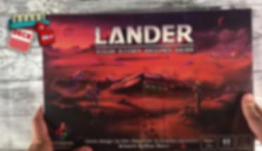 Lander Prototype Unboxing