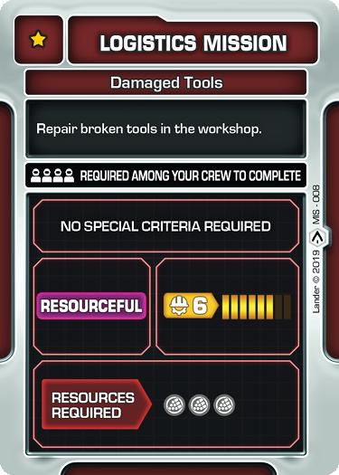 Damaged Tools