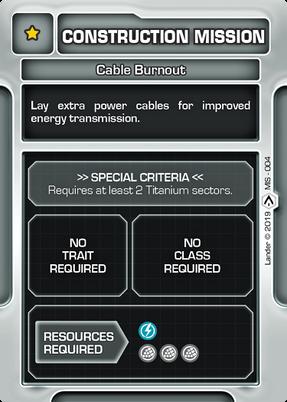 Cable Burnout