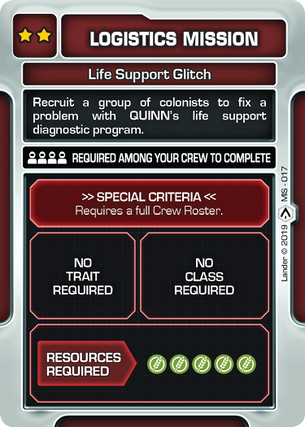 Life Support Glitch