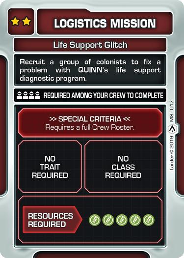 Life Support Glitch